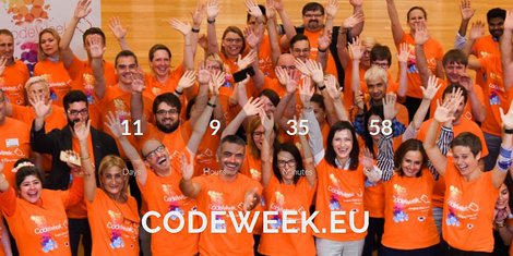 Codeweek Brussels october 2018