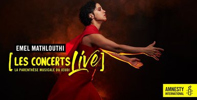 Concerts Amnesty international - mai 2020 - Emel Mathlouthi