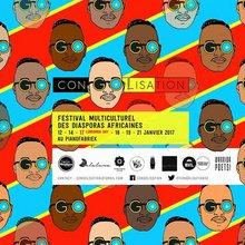 festival Congolisation - visuel de l'édition 2017