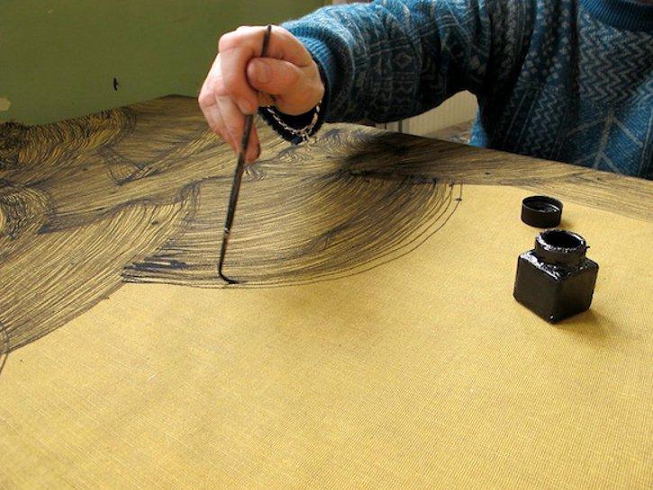 Michel Petiniot au dessin - (c) peinture peinture