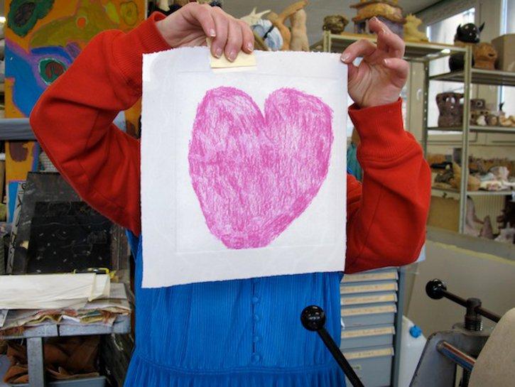 coeur de Sandrine Leballue - (c) peinturepeinture