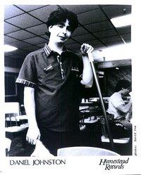 Daniel Johnston au travail - photo de presse Homestead records.jpg