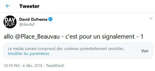 David Dufresne - Allo Place Beauvau