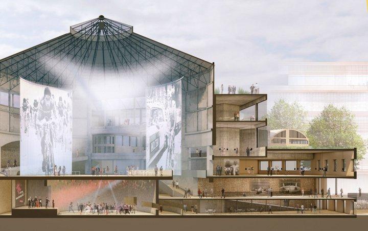 Gand - le futur du Nieuw circus, vers 2020