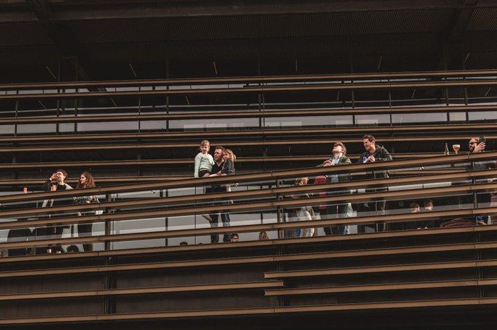 De Krook - lamelles et balustrades - (c) De Krook - Michiel Devijver