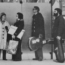 Derek Bailey et Evan Parker à Londres 1975