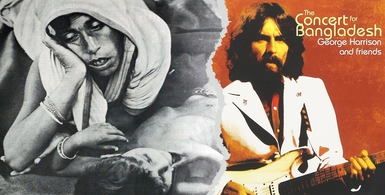 Des revoltes qui font date 28 Bangladesh George Harrison