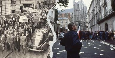 Des revoltes qui font date no 37 Grèves a Nantes Jacques Demy