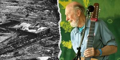 Des revoltes qui font date 40 pollution Hudson River Pete Seeger