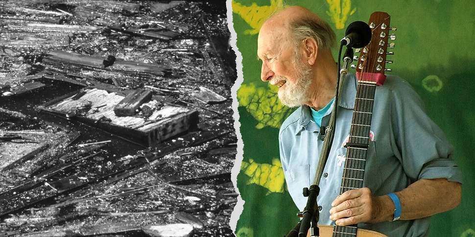 Des revoltes qui font date 40 pollution Hudson River Pete Seeger