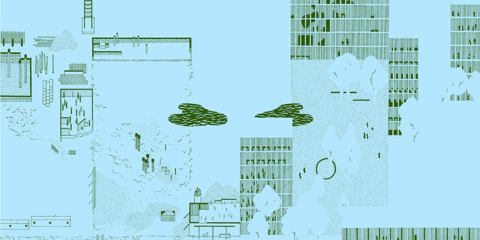 """""""Desired Spaces"""" - visuel d'Eva Le Roi"""