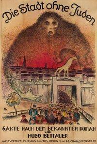 Die Stadt ohne Juden - Breslauer 1924 - affiche