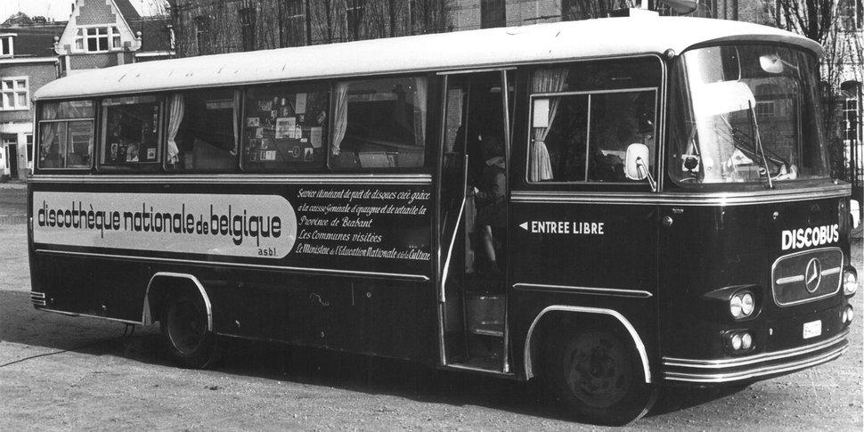 Discobus - archives Discothèque nationale / PointCulture