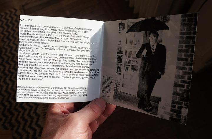 """Dog Faced Hermans - """"Calley"""" - livret du CD"""