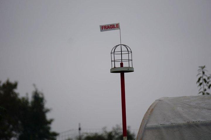 D'où vient le vent ? - expo Marchin - girouette Philippe Luyten 2