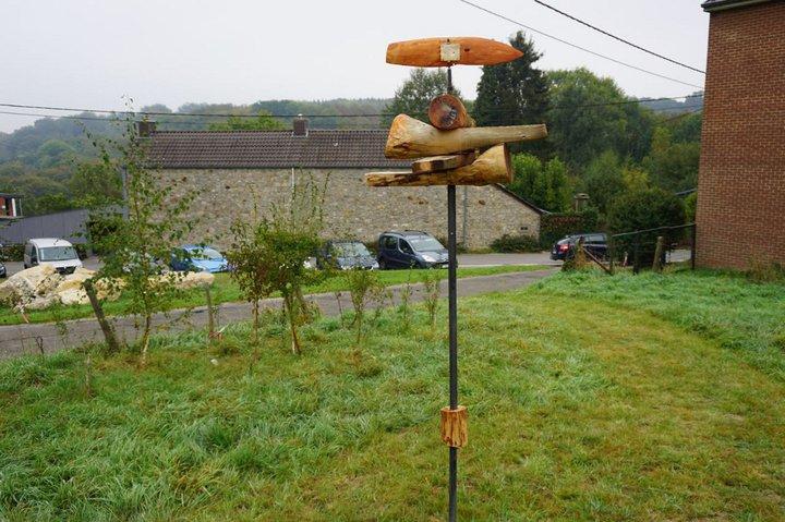 D'où vient le vent ? - expo Marchin - girouette Luc Navet