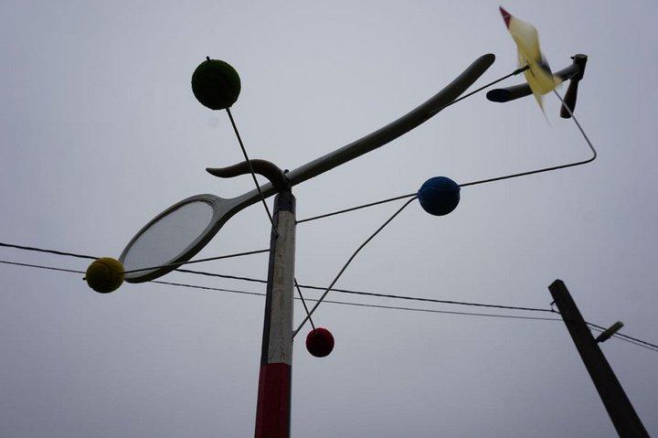 D'où vient le vent ? - expo Marchin - girouette Jacques Patris 2