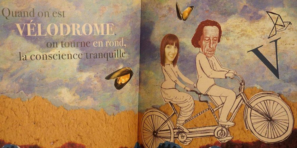 Emelyne Duval L'Abécédaire, double page