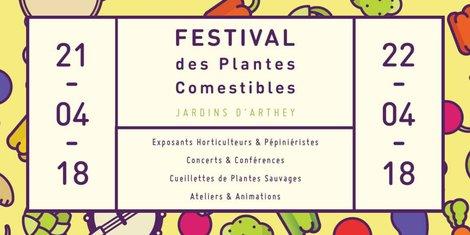 festival des plantes comestibles