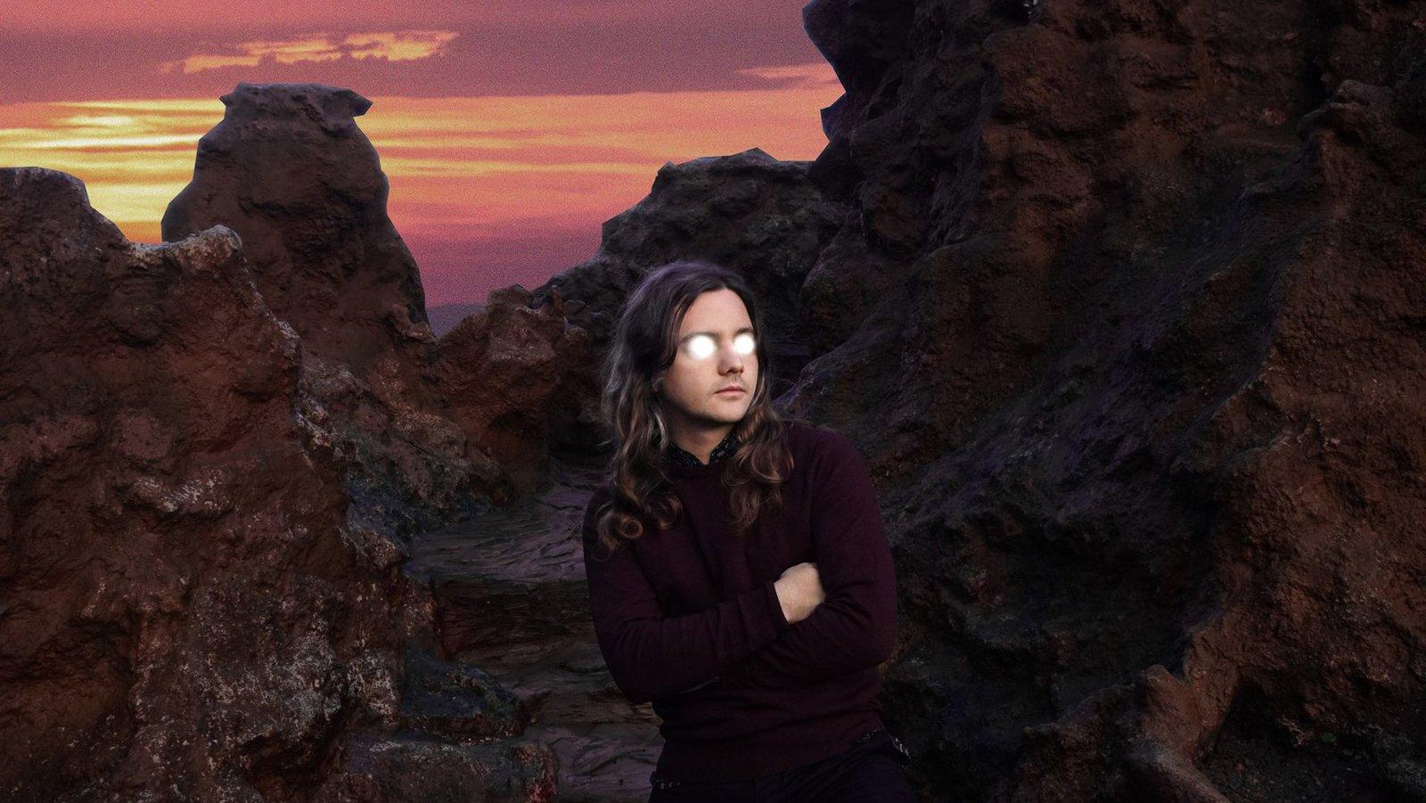 Flavien Berger - visuel tournée 2019 - Le Botanique
