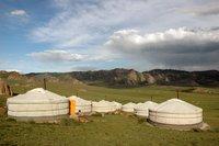 Ger camp, Mongolia - Séverine Bailleux