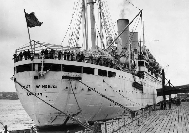 28th March 1954: The British liner 'Empire Windrush' at port. (Photo by Douglas Miller/Keystone/Getty Images)  Read more at: https://inews.co.uk/news/long-reads/bbc-windrush-reporting-1948/