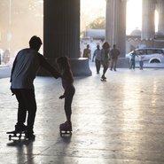 Girl skate India Fabienne Karmann