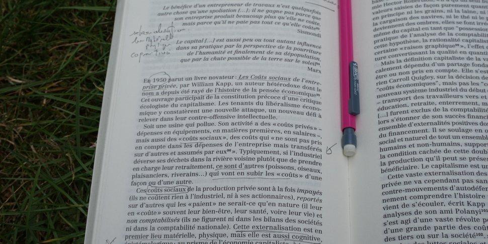 Grégoire Chamayou - La Société ingouvernable (ed. La Fabrique) - page annotée