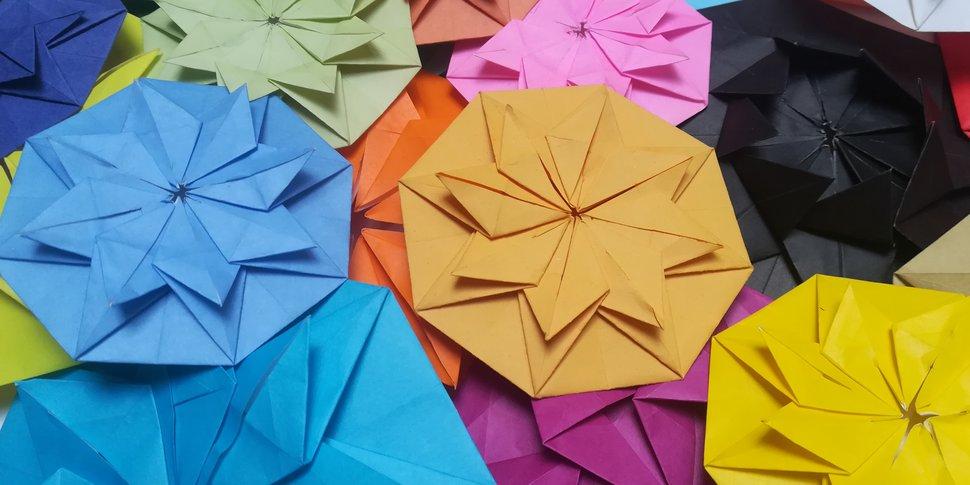lotus rouge origami 2