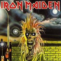 Iron Maiden - pochette Iron Maiden par Derek Riggs