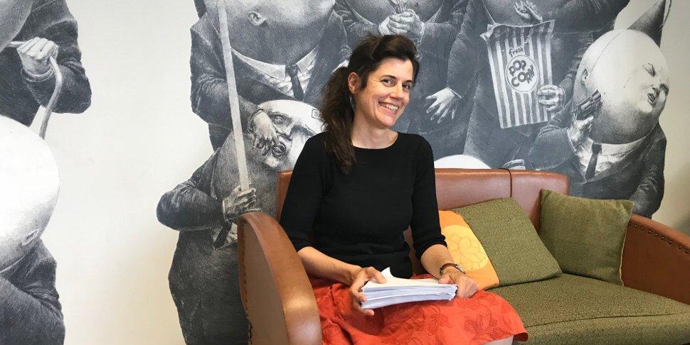 Isabelle Ferreras au PointCulture Bruxelles - photo Emmanuelle Dejaiffe