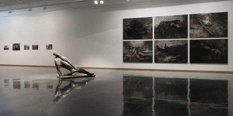 Jacques Cerami au Musée des Beaux-Arts de Charleroi - expo Putain de guerre
