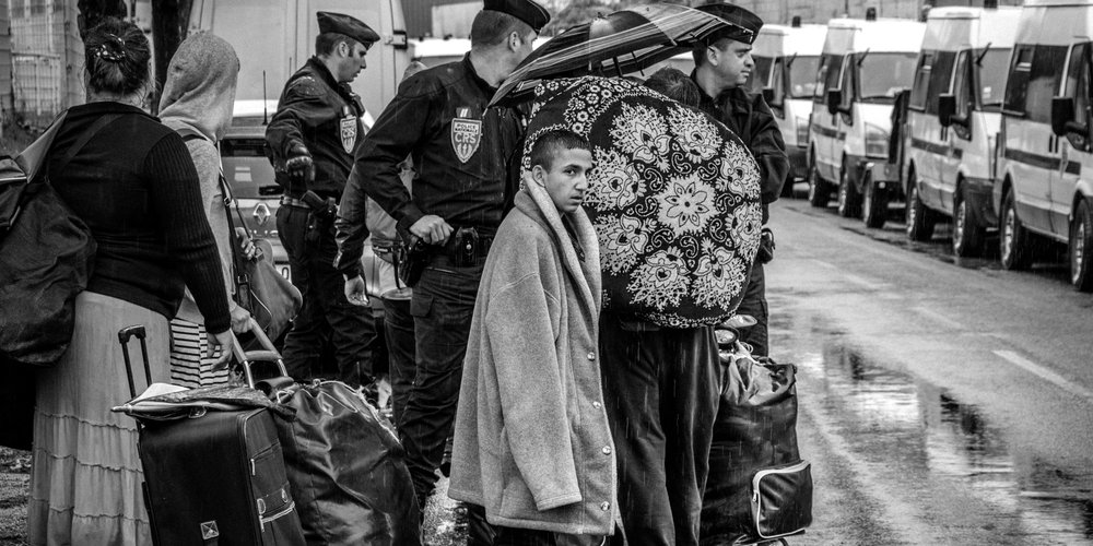 """Jérémy Gravayat : """"A lua platz"""" - expulsion du bidonville du Samaritain La Courneuve 2015"""