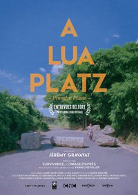 "Jérémy Gravayat : ""A lua platz"" - affiche"