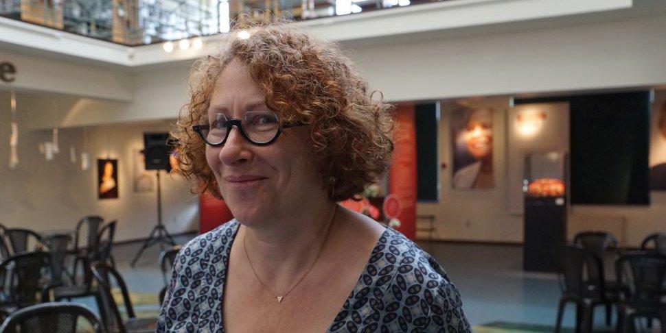 Joelle Baumerder directrice de la maison du livre