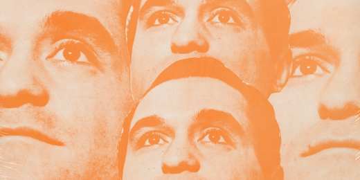 John Giorno - pochette du disque Raspberry / Pornographic Poem (1967)