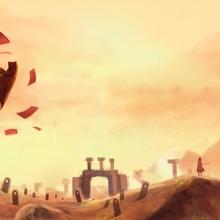 """jeu vidéo """"Journey"""" - Thatgamecompany, 2012"""