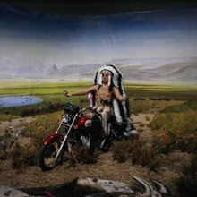 Kent Monkman - diorama au Palais de Tokyo