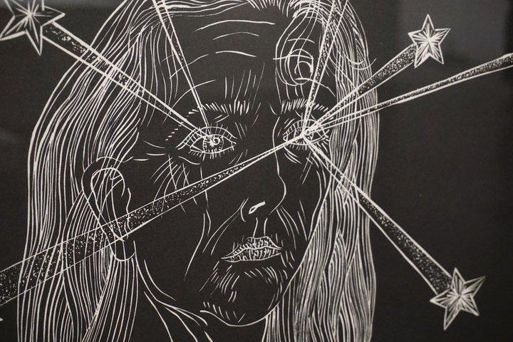 """Kiki Smith : """"Clearing"""" - exposition au Centre de la gravure"""