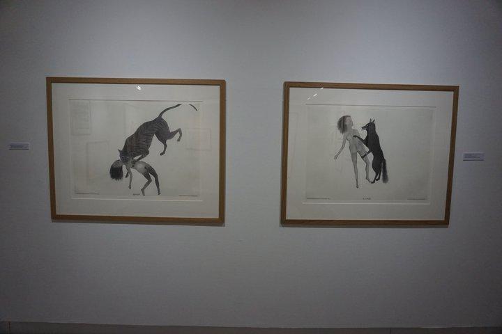 "Kiki Smith : ""Splendid"" et ""In a Field"" - exposition au Centre de la gravure"