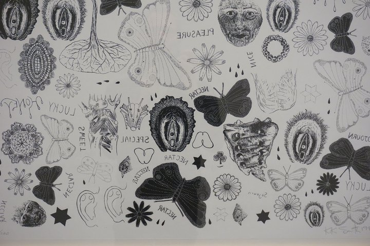 Kiki Smith : Tatouages - exposition au Centre de la gravure