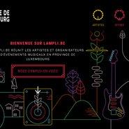 LAMPLI.BE - site web - capture d'écran