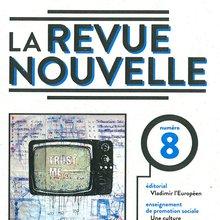 couverture du n°8 de La Revue nouvelle -