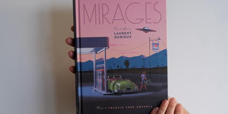 """Laurent Durieux : """"Mirages"""" - photo1a - couverture"""