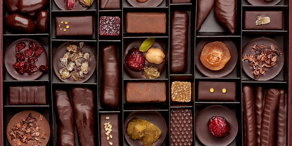 Laurent Gerbaud assortiment de chocolats