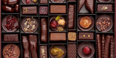 Laurent Gerbaud assortiment de chocolats