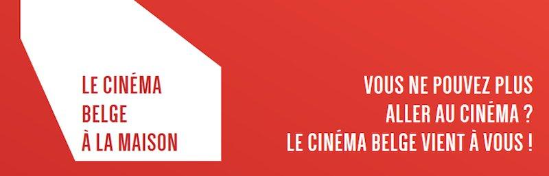 Le cinéma belge a la maison - logo - site