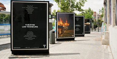 Les Tanneurs - affiches saison 2019-2020 - graphisme Stoemp studio
