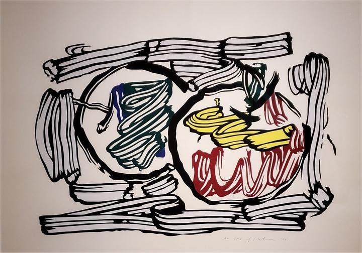 """Roy Lichtenstein """"Brushstroke"""" (1967)"""