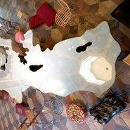Love the difference – Mar Mediterraneo, Michelangelo Pistoletto, 2003-2007 © Michelangelo Pistoletto CNAP photo  Galerie of Marseille - Du son sur tes tartines